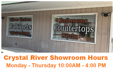 Citrus Custom Cabinets Citrus County Florida Showroom